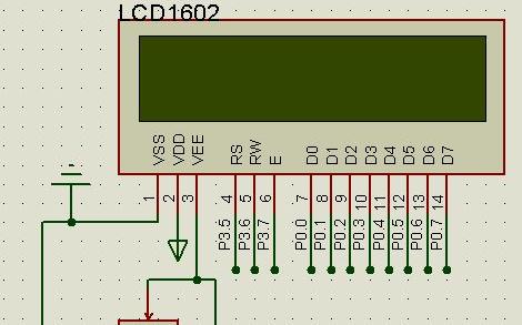 LCD1602的驱动程序的代码编写