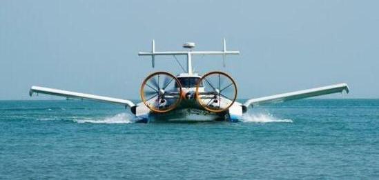 中国正在研发可载弹掠海飞行的地效无人机,成海防一大利器