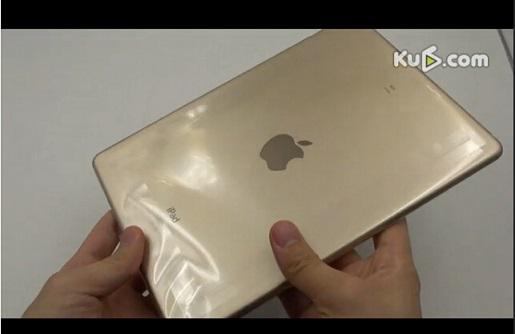 具有三个核心A8X芯片的iPad Air2开箱展...