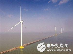 天津南港海上风电场一期工程正式投运,可提供大量清洁电能