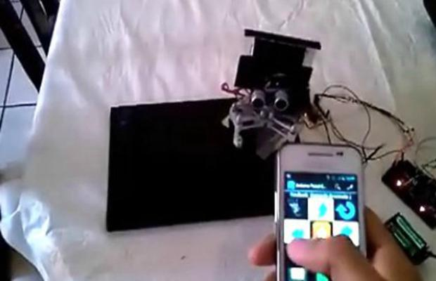 关于蓝牙控制Atmel制造的机器人手臂的介绍