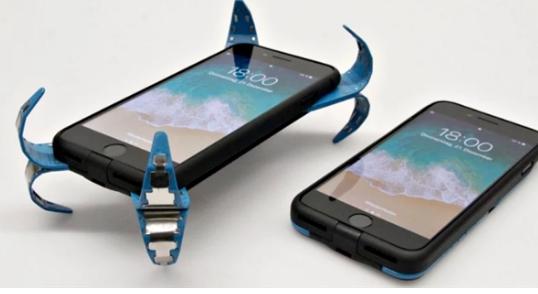 """AD Case""手机安全气囊:脑洞专利解决手机易摔碎问题"
