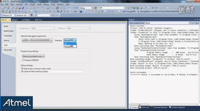 AVR入门:介绍如何使用Xplained Mini转换编程与电源选项