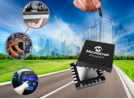 Microchip推出两款全新tinyAVR? MCU器件 进一步增加传感器节点功能