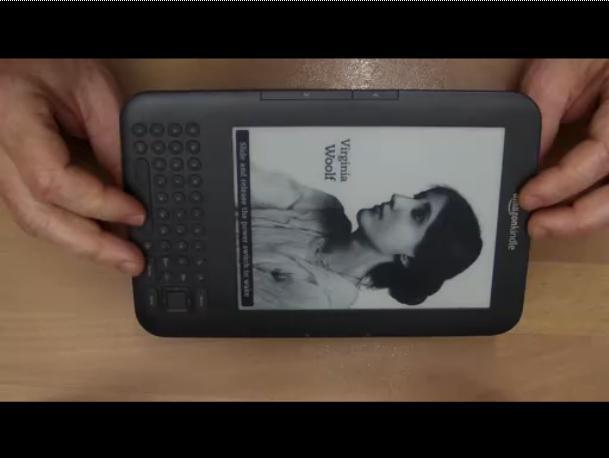 Amazon Kindle3 3G 电子书的拆解视频