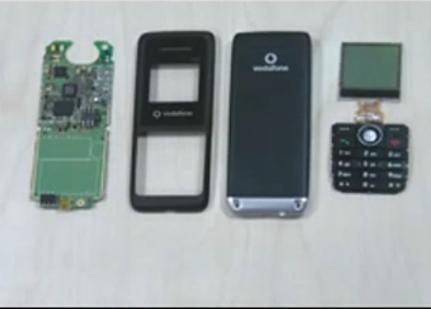 拆解中兴 Vodafone125 的视频