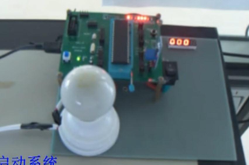 基于ATmega16的寝室节能系统的设计