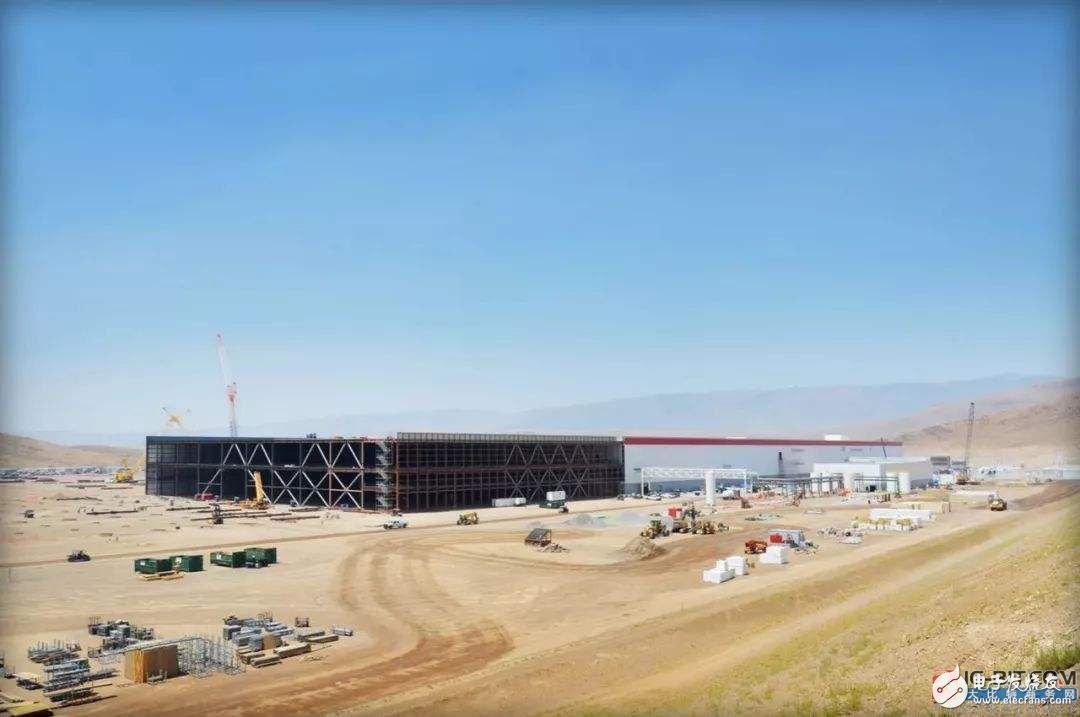 特斯拉将于美国加州建造巨型电池系统,生产容量高达1.1GWh