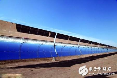 国内首个大型商业化槽式光热电站并网成功,成功填补技术空白
