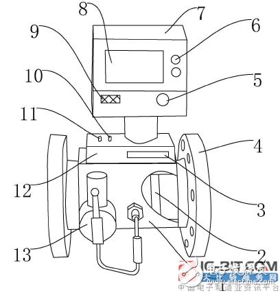 【新专利介绍】一种可远程控制式智能燃气表