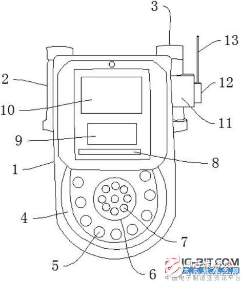 【新专利介绍】一种可以遥控监控燃气流量的燃气表