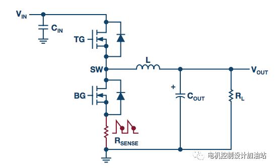 开关模式电源电流检测电阻的降压调节器介绍和何处放置检测电阻