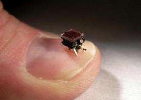 我国设计出一种微型机器人,将有望在人体内运输细胞