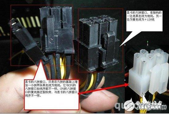 可以采用D型4PIN接口外接转换线PIN显卡供电接口