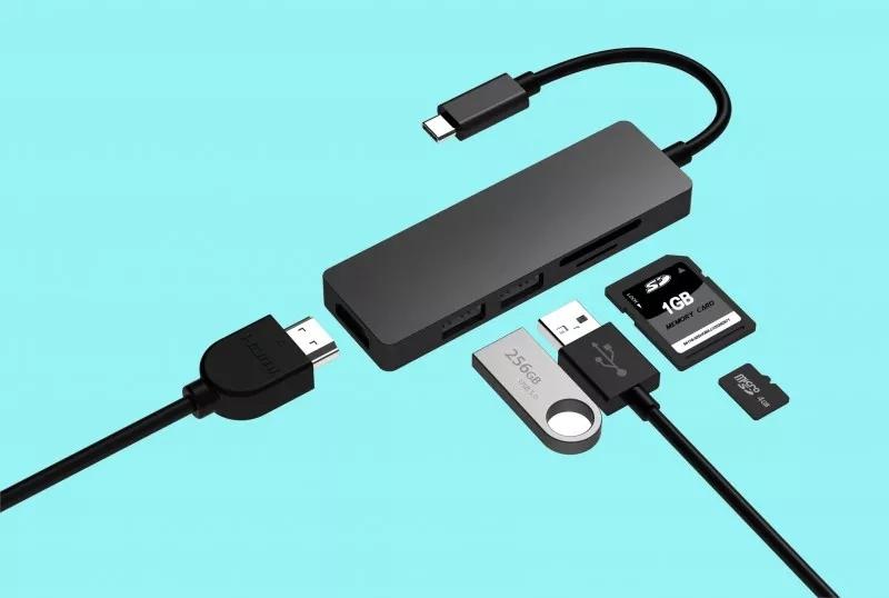 无线充电USB集线器ODM高清的扩展视野