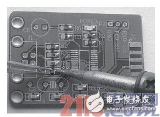 手工焊接贴片元件的详细步骤