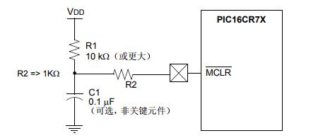 基于PIC16F76/77 → PIC16CR76/77的移植
