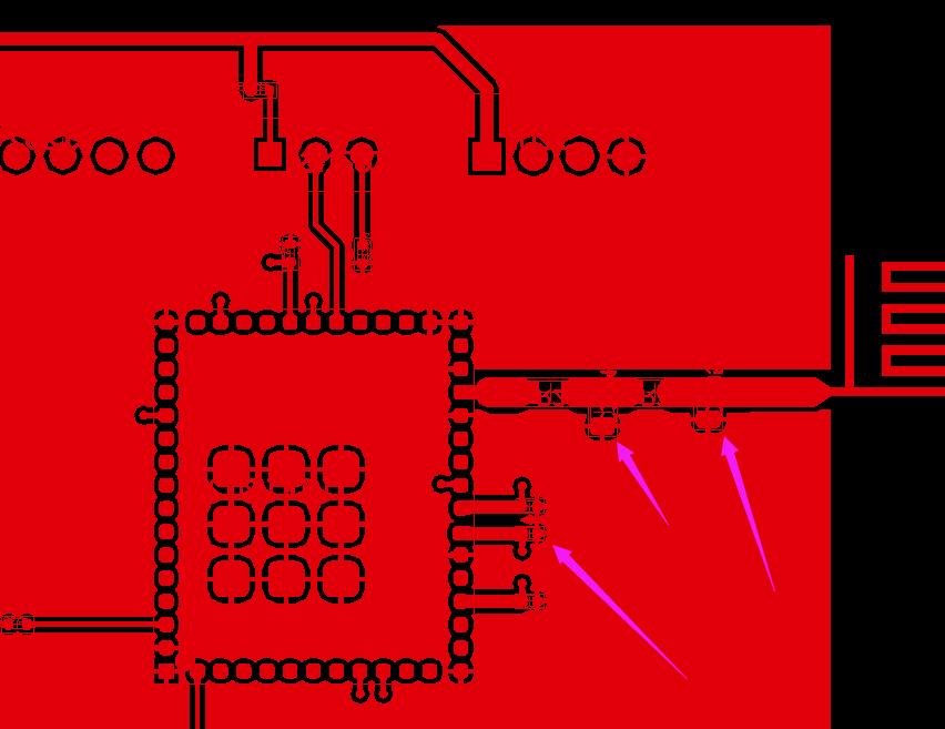 GERBER文件,整板2D线部分宽度与线宽一样。为避免删错导致短路,导出的资料时需屏蔽2D线。示意图1
