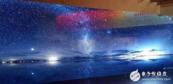 屏幕技术新方向:MicroLED显示屏,亮度高达...