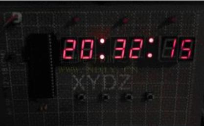 基于数码管的电子时钟代码设计详细资料免费下载