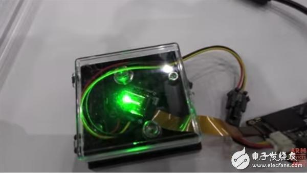 香港JBD展示目前全球最亮的MicroLED显示屏,达到100万尼特
