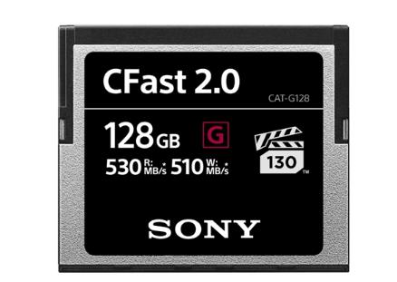 索尼推出全新G系列CFast规格存储卡,读写直逼高端SATA SSD