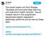 Uri Shalit 发文称:标准化逻辑回归和深...