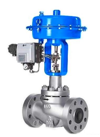 接收工业自动化控制系统的控制信号来完成调节管道介质的流量,压力图片