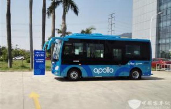 百度与软银在自动驾驶公交车领域展开合作,Apol...