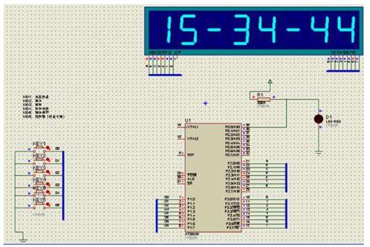 基于51单片机的LCD1602电子时钟程序的详细资料免费下载