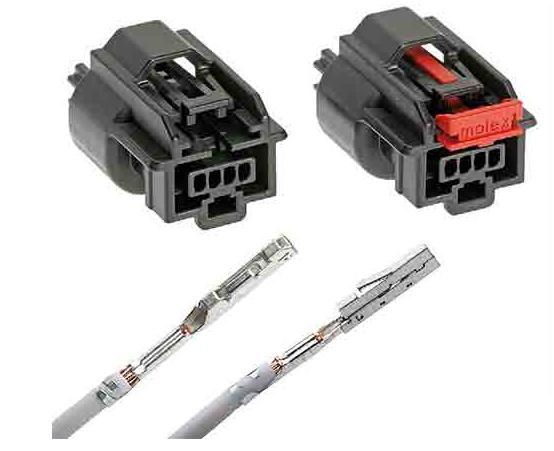 Molex Mini50密封连接器:0.5毫米级...