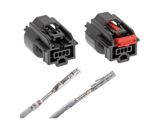 Molex Mini50 密封镀层连接器面世:采用双横梁设计,减轻了重量