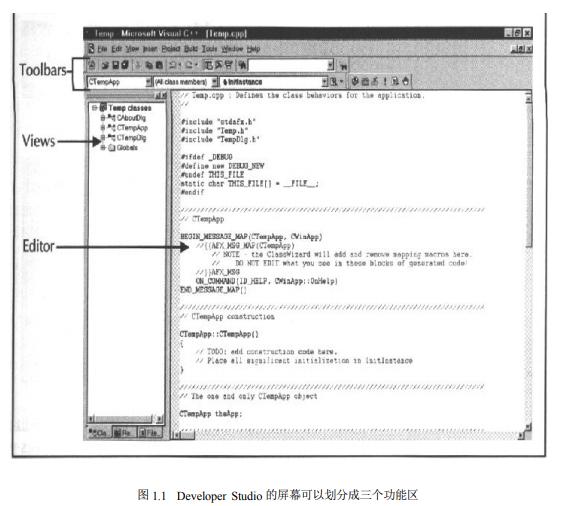 Visual C++6编程语言的教学的详细电子教材免费下载
