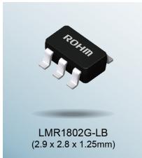 ROHM推出业界最优低噪声运算放大器——LMR1802G-LB