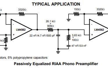 LM4562音频运算放大器的详细英文原版数据手册免费下载