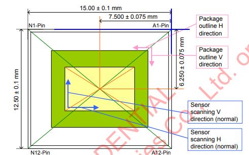 IMX185LQJ-C CMOS有源像素型固态图像传感器的详细资料概述