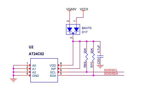 PRJ11的VGA输入端和HDMI输出及功率消耗详细资料电子电路图免费下载