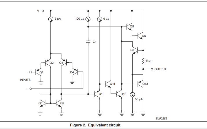 SE532,LM258,LM358和LM2904低功耗双运算放大器的详细资料概述