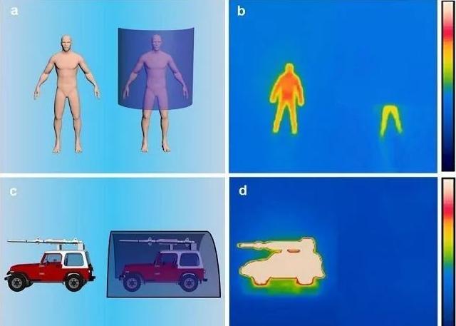 工程师研发出可有效隐匿物体和人体的红外辐射的超薄轻量隐形板