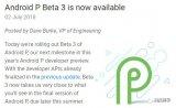 Google放出了Android P的第三个开发...