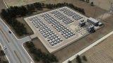 特斯拉已经安装了足够的基础设置,以储存总计1GW...