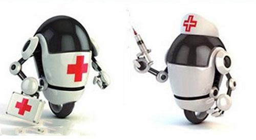 """医疗服务机器人""""艾菲仕""""已在多家医院试点使用,可实现远程会诊"""