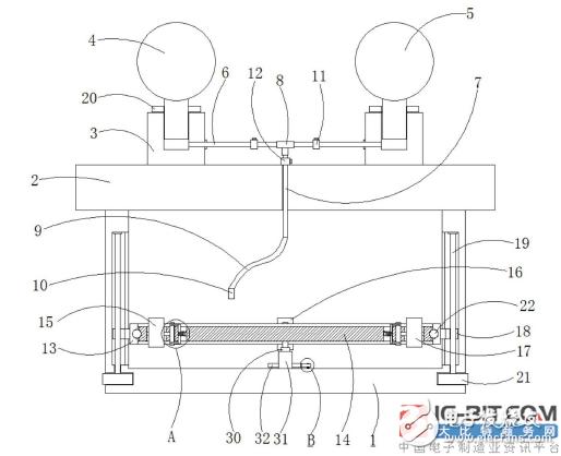 【新专利介绍】一种燃气表功能实验装置