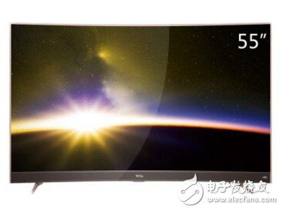 TCL-55P3-4K曲面电视介绍