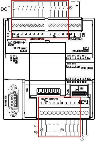 s7-200的介绍和s7-200 cpu的输入,输出接线图