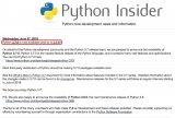 Python官网宣布,正式发布Python 3....