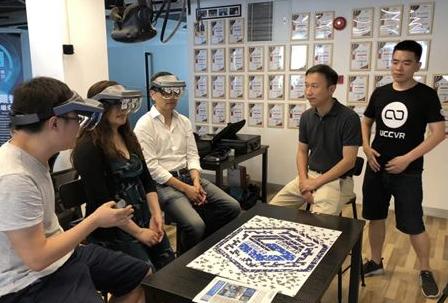 徕尼科技推出全息眼镜,互动协作平台正式发布