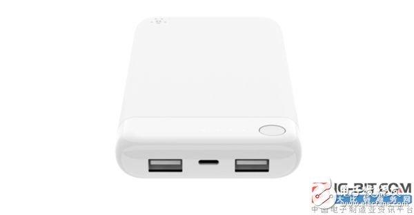 贝尔金推出一款苹果周边移动电源,售价约400人民币