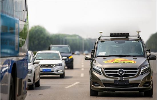 戴姆勒首获北京自动驾驶路测牌照,进一步完善其自动驾驶技术的应用