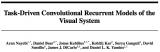 一个基于任务的深度循环网络,加入循环单元可以解决更困难的视觉问题